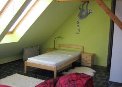 dětský pokoj s lemurem