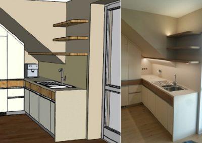 původní stav, návrh, montáž a bydlení 2