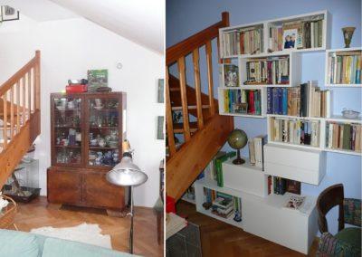 obývací pokoj - nový nábytek na míru